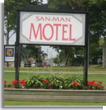 San-Man Motel - Highway 12, Port Perry, Ontario